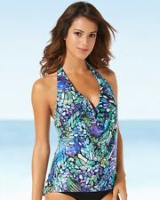 NEW MAGICSUIT MIRACLESUIT TANKINI TOP SWIMSUIT 8 38 Papillion Sophie TOP ONLY