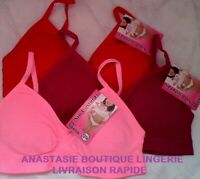lingerielot3 brassières12/14anssousvêtementenfantfilles/fillettecoussinetamovibl