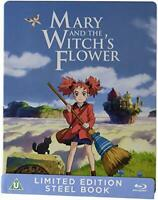 Mary and the Witchs Flower Steelbook [Blu-ray] [DVD][Region 2]