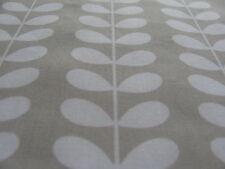 Orla Kiely Linear Tiny Stem Cloud Grey 1M 200cm / 100cm drop cotton Fabric new