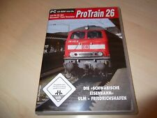PROTRAIN 26 ULM - FRIEDRICHSHAFEN ~ MICROSOFT TRAIN SIMULATOR ADD-ON