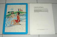 PUZZLE LA VITA DI GESU' Il Battesimo di Gesù BARAVELLI anni 60