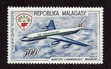 Malagasy Republic-1963-Sc C71-Nh-1 of 2-Comm'l Aviation