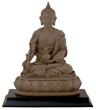 "NEW 6"" Medicine Buddha Healing Medidtating Statue Figurine Eastern Tibetan 7319"