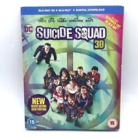 Suicide Squad Blu-ray 3D + 2D Action DC Super Hero Movie Robbie Smith Leto