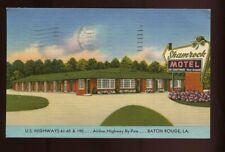 1956 Shamrock Motel  Baton Rouge, Louisianna  LINEN  H A Hopkins