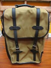 FILSON Rolling Carry-On Bag Medium Tan New