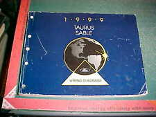 1999 FORD TAURUS MERCURY SABLE WIRING DIAGRAMS MANUALgood