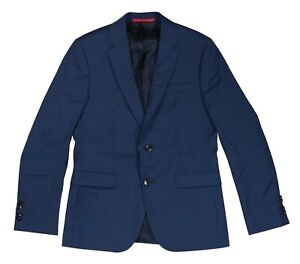 Hugo Boss Red Label Micro Houndstooth Extra Slim Fit Wool Sport Coat Blazer NWT