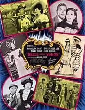 BELLE OF THE YUKON Movie POSTER 27x40 B Randolph Scott Gypsy Rose Lee Dinah