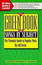 The Green Book of Songs by Subject: The Thematic Guide to Popular-ExLibrary