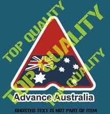 VINTAGE ADVANCE AUSTRALIA DECAL STICKER PATRIOTIC AUSTRALIANA DECALS STICKERS