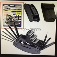 New Multi Purpose Folding Hex Key Wrench Set *US  FREE SHIPPING *