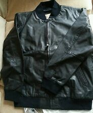 Levis mens leather jacket new size s with tiny imperfections please read