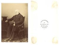 Grillet Napoli à identifier CDV vintage albumen carte de visite,  Tirage album