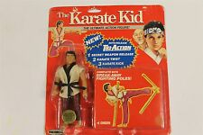The Karate Kid Vintage Chozen Remco Sealed MOC Rare Red card Wow Action Figure