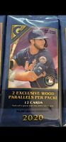 One cello pack -2020 Topps Gallery Baseball Cello Packs-brand new ready to ship