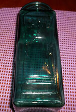 """Vintage Coffee Storage Glass Bottle Jar """"Caffe"""" Made in Italy No Cork"""