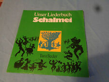 Schalmei--Unser Liederbuch-Tanzlieder-Viny LP Ernst Klett Stuttgart 1981