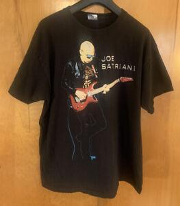 Joe Satriani 2010 Wormhole Tour Black XL Men's T Shirt