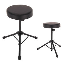 Durable Folding Music Guitar Keyboard Drum Stool&Throne Piano Chair Padded Seat