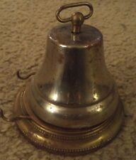 Vintage Brass German Germany Counter SERVICE BELL with Striker Holder