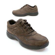 Rockport Men's Size 13 Brown Nubuck Leather Oxford Casual ProWalkers EUC DMX