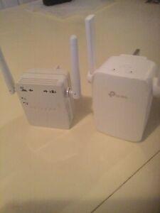 TP-LINK WiFi Powerline Extender and NETGEAR Extender.