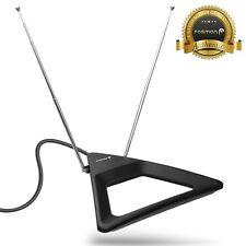 Fosmon [25 Mile] Indoor Table Wall Mount HDTV HD TV Rabbit Ear Dipole Antenna
