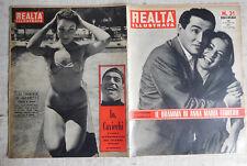 REALTA' ILLUSTRATA n.31 - 1955 Vittorio Gassman Anna Maria Ferrero - Cavicchi