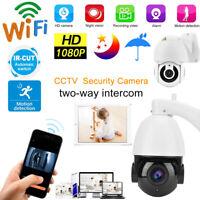 "2.5""/4.5"" Wireless WiFi 1080P/30x Zoom HD Security Camera Night View Waterproof"