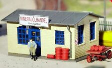 PIKO HO Scale Dino Lube & Oil Supply Building Kit # 61834  New in box