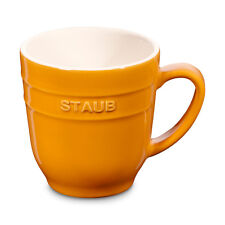Staub Ceramic Coffee Cup Cocoa cup Tea cup big cup Mustard-yellow 0,35 L