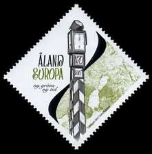 Aland 2009 Clock Tower, New Border, New Times, Mnh/Unm