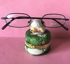 New Children's MINI Brand Eyeglasses Metallic Blue Frames Recetangle Glasses NWC