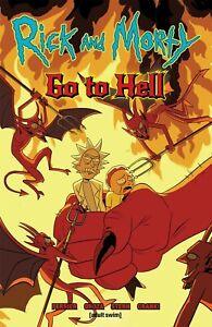 RICK & MORTY: GO TO HELL GRAPHIC NOVEL Oni Comics Ryan Ferrier TPB