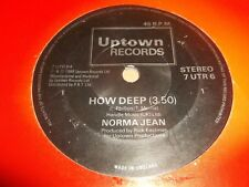 "NORMA JEAN "" HOW DEEP "" 7"" SINGLE 7 UTR 6 EXCELLENT 1988"