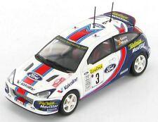 FORD FOCUS RS WRC #3 2001 SAINZ MOYA RALLYE MONTE CARLO AUTOART 60111 1/43