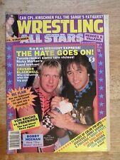 1986 WRESTLING ALL STARS MAGAZINE VINTAGE WCW WWF missy hyattric flair von erich