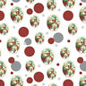 Christmas Santa Claus Forest Animals Premium Gift Wrap Wrapping Paper Roll