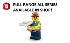 Lego minifigures pizza delivery guy series 12 (71007)unopened new factory sealed
