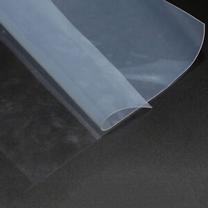 """Silicone Rubber Sheet 20""""x20"""" Ultra Thin Silicon Film Panel 0.1mm-0.8mm thick"""