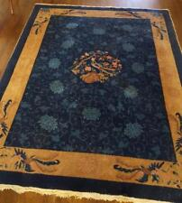 Wonderful Antique Asian Area Rug - Hand Knotted GORGEOUS COLOR - BEAUTIFUL PIECE