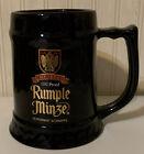 Rumple Minze Black Ceramic Large  1 Litre Stein