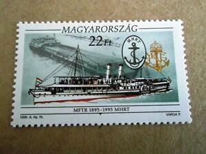 1995 Hungary History of Hungarian Sailing Ships u/m Mi.4349 BT8
