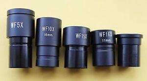 HIGH QUALITY WF5x,10x, 15x, 16x or 20x EYEPIECE for BIOLOGICAL MICROSCOPES, BNB