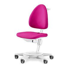 moll Kinderdrehstuhl Maximo Gestell weiß Sitzbezug pink