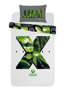 Xbox Series X Single Duvet Cover Reversible Bedding Set Official Cotton