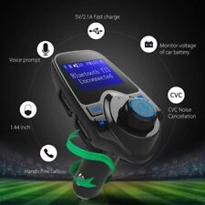 Reino Unido Inalámbrico Bluetooth transmisor FM Reproductor MP3 coche LCD manos libres Kit de llamada