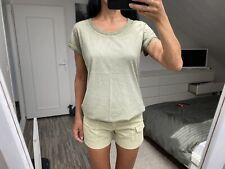 Ensemble vert anis kaki t-shirt G Star RAW et short JBRAND 36 38 S M